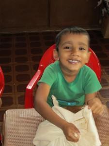 09 Rushene Radeeshana_Die Kinder stellen sich vor
