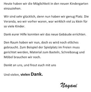 Einweihung_Kindergarten_Mai_2016_K640_03_nayani_s_brief_deutsch